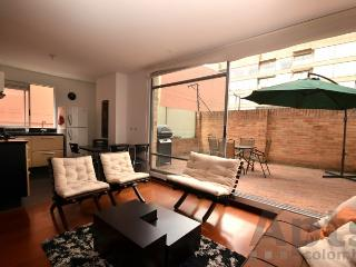 DELIA - 1 Bed Executive Apartment with private terrace and BBQ - San Patricio, Bogotá