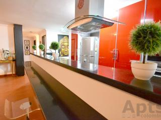NATALIA - 3 Bed Renovated Apartment with designer gas fire (Chico), Bogotá