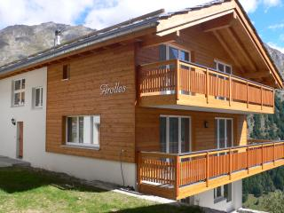 Les Arolles ***** chalet with flair!   10 persons, Saas-Fee