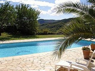 Villa Palm pool, Poujols