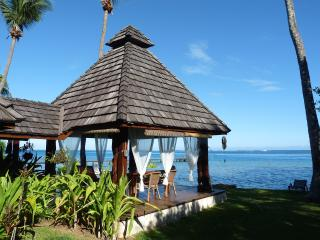 Villa Poerani: a gorgeous 3 bedrooms polynesian villa by the lagoon, Maharepa