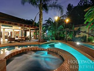 Hollywood Mansion with Stunning Waterfall Adjacent to Heated Pool + Hot Tub