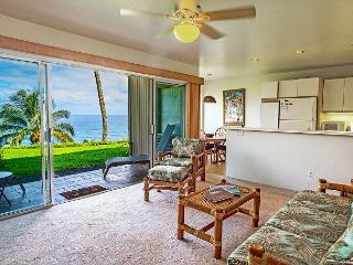 Pali Ke Kua #108: Stunning sunset and ocean view 1bdr/1bath condo!