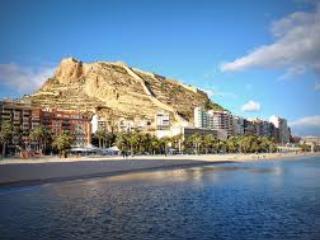Interest site Postiguet alrededores.Playa.