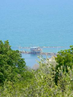 The Trabocchi coastline is less than 5 minutes from the house.