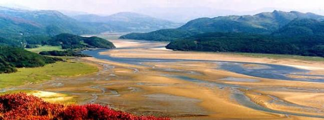 Mawddach Estuary from the 'Precipice Walk' above Dolgellau