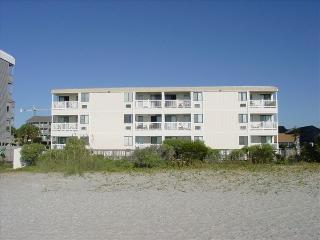 A Place at the Beach V. Our oceanfront unit is on the top floor, right center.
