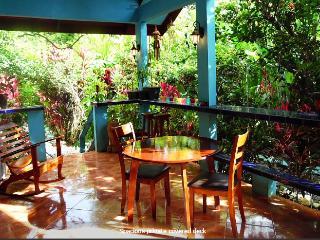Casa Azul -Lush Tropical Oasis Steps Pavones Beach