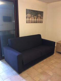 divano nuovo sostituito
