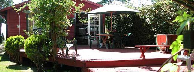 Courtyard deck from Sleepy Hollow