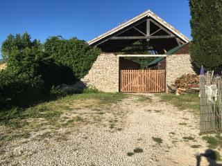 Chalet provençal vue sur le Mont Ventoux, Mormoiron
