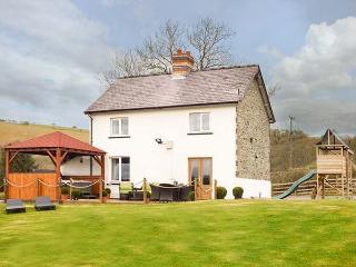 CWMCELYN, family detached farmhouse, luxury accommodation, hot tub, walks from d