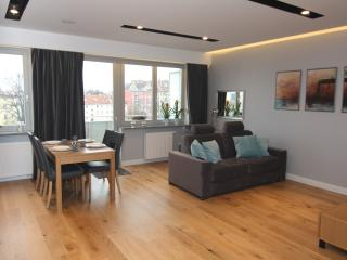 Grey Corner Apartment, Szczecin