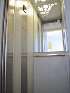 Private lift.
