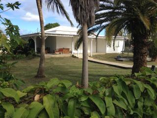 Grande maison et grand jardin proche plages, Saint Francois