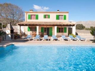 5 bedroom Villa in Cala San Vicente, Pollenca, Mallorca : ref 2086305, Illetes
