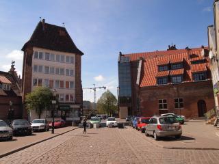 Central location in Old Town of Gdansk (Danzig) Ogarna Street