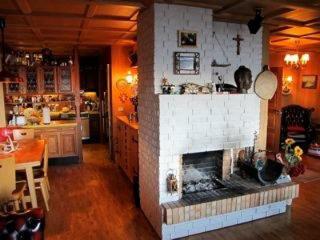 Beautiful house at Thingvellir National Park