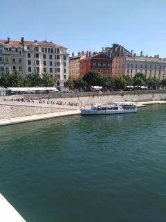 La Saône, départ City-Boat