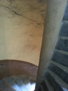 Les escaliers en colimaçon