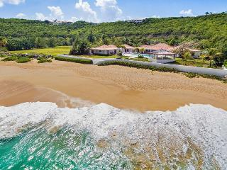 CASA CERVO...Baie Rouge beach is just outside the door of this fabulous 4 BR vil