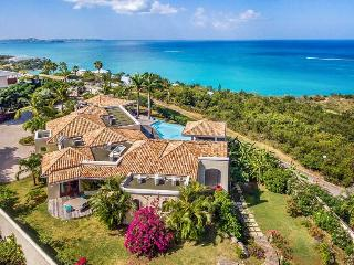 HAPPY BAY VILLA... Irma Survivor! 4BR French St Martin rental villa...close to