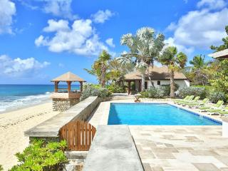 BLUE BEACH VILLA... comfortable villa on a fantastic soft, white sand beach!, St. Maarten