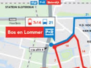 map of parking garage location