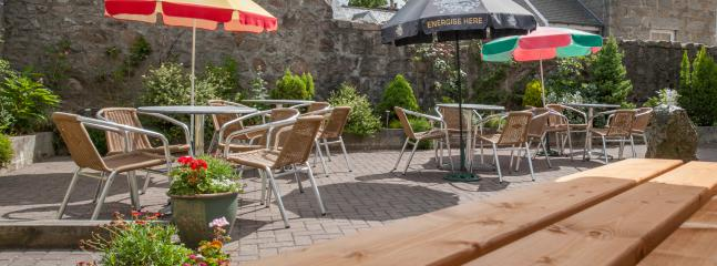 Our Walled Beer Garden