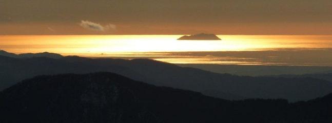 Vista tramonto dal Passo della Croce Arcana