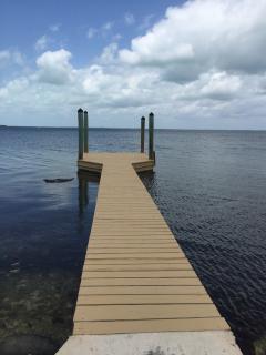Sun bathing dock
