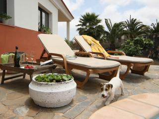 La Vera - jardin y  piscina privada -  Villaverde Fuerteventura