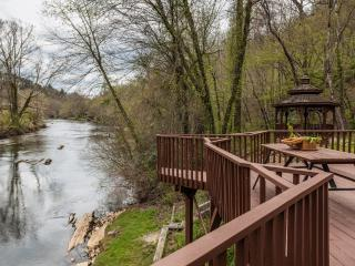 Nanny's Shanty - Sits right on the Toccoa River, Mineral Bluff
