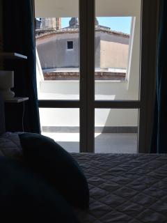 vista dal letto su San Matteo