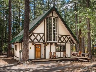 Picturesque Tahoe City Chalet + Guest House