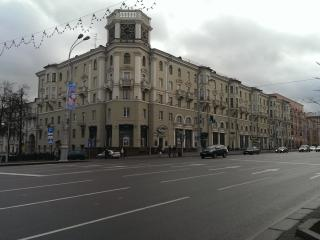 Apartments in the heart of Minsk .