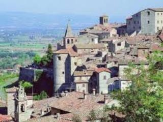 Anghiari, our stunning local medieval walled town - only 3 miles from Casa Leana