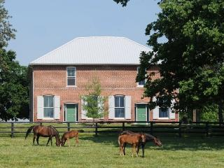 Renovated Train Station on Thoroughbred Horse Farm