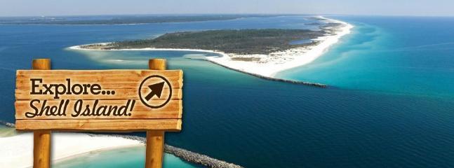 Shell Island Rentals a block away