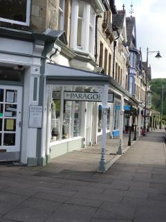 Yewbarrow terrace in Grange where you will find an assortment of specialist shops and cafes