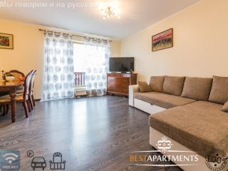 Apartment with balcony and free parking, Tallinn