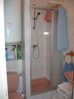 Le coin douche