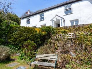 TREVALZA COTTAGE character cottage, open fire, sea views, WiFi, St Keverne Ref