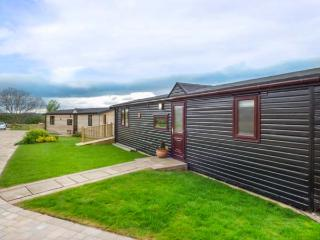 SYCAMORE LODGE, pet-friendly lodge, veranda, views, close coast, Liverton Ref 93