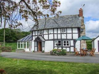 TYN-Y-CAE, Elizabethan, detached, woodburner, conservatory, parking, garden, in Shobdon, Ref 934420
