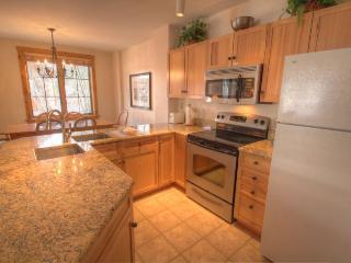 Kitchen - Open floor plan to entertain while cooking.