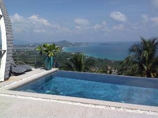 Villa Sartore 180° sea view in chaweng noi, Chaweng