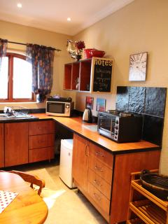 Homely kitchen spiced with love. With everything you would need