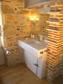 Salle de bains chambre Pigeonnier.