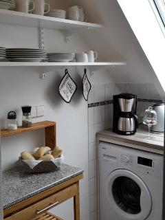 Küche mit Tageslicht